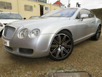 Bentley Continental 6.0 GT 2dr+F/S/H+21 INCH ALLOYS