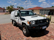 2012 VDJ79 Toyota Landcruiser workmate, Roscos trade mate body Thornlie Gosnells Area Preview