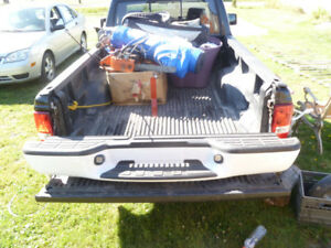 BACK BUMPER FOR 1/4 TON TRUCK LIKE NEW