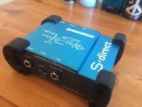 Samson S-Direct DI box