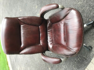 Office chair,  brown gentle usage