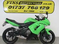 Kawasaki EX 650 B8F ABS ER6F, Green, Good condition, Serviced, MOT, Warranty