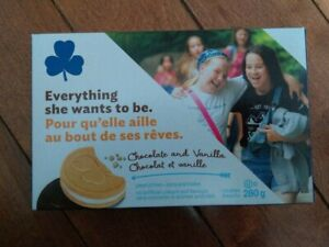 Girl Guide Cookies for Sale $5 a box