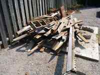 FREE scrap wood from deck