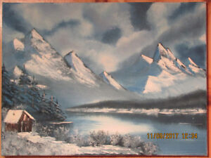 Contemporary Canadian Artist Oil Painting