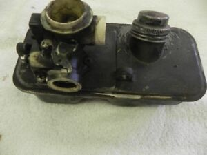 Carb and gas tank for B & S lawn mower