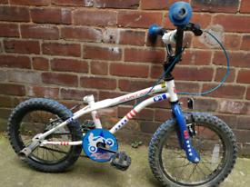 Kids Bike with Stunt pegs