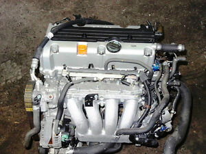 03 08 HONDA ACCORD CRV ELEMENT 2.4L DOHC I-VTEC ENGINE JDM K24A4