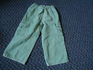 Boys Size 4 Faded Glory Khaki Style Light Green Pants Kingston Kingston Area image 2