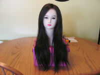 Brand New 100% Human Hair Lace Front Dark Brown Wig $260.00