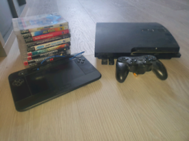 Ps3 slim bundle with games