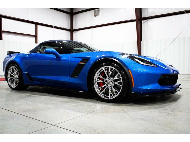 2016 Blue Chevrolet Corvette Z06 3LZ | C7 Corvette Photo 6