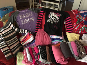 Box of girls clothes size 7/8