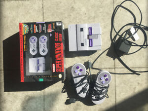 Upgraded SNES CLASSIC with NES and SnES games!!!
