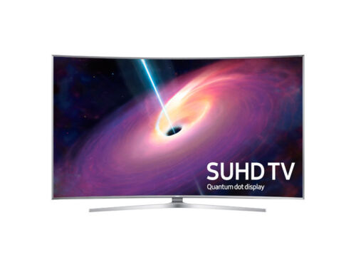 "Samsung 78"" Class (78"" Diag.) LED Curved 2160p Smart 3D 4K Ultra HD TV Black UN78JS9500"