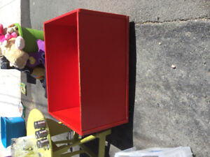 Red box on wheels