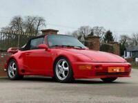 1989 C PORSCHE 911 3.3 TURBO 2D 300 BHP