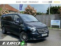 2018 Mercedes-Benz Vito 109 1.6CDi 88bhp LWB L2 EURO 6 Panel Van Diesel Manual