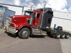 2007 KENWORTH T800B TRI DRIVE Cash/ trade/ lease to own terms