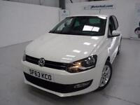 VW Polo MATCH EDITION + JUST SERVICED + WHITE + 2 KEYS
