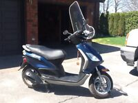 Mint condition Piaggio 150cc scooter