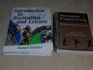 Recreation and Leisure textbooks