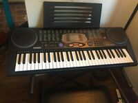 Casio CTK 533 keyboard with stand and seat - excellent condition