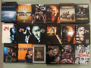 DVD Movie and TV Series Box Sets $3-$15 see listing for prices