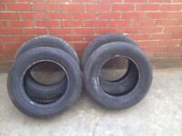 4 tyres