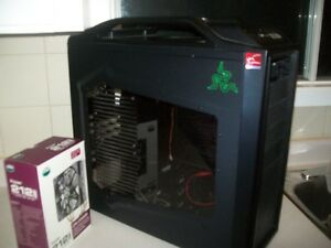 medium tower case +heatsink pc avc cpu i7 920