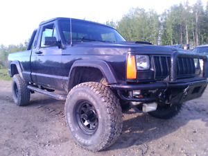 1989 Jeep Comanche 4x4, 5-speed, 4.0L