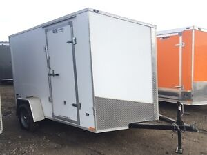 2016 Stealth Trailers 6x10 Flat Top Cargo Trailer