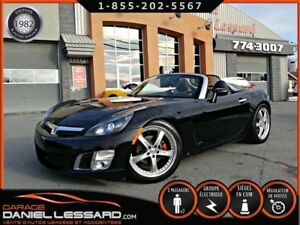 Saturn Sky SKY, RED LINE 2.0 TURBO, CUIR MANUELLE, VGA QC 2008