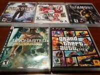 PS3 Games, GTA5 and others