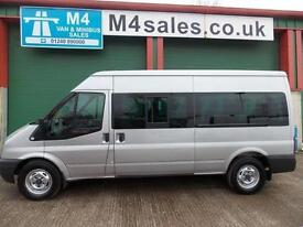 Ford Transit 135ps,14st minibus,Full a/con.