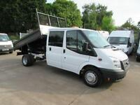 2014 Ford Transit 350 125bhp Steel Body Dropside Tipper