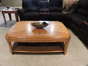 Coffee Table, 2 End Tables & Sofa Table