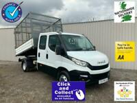Iveco Daily 35C13D DOUBLE CAB ALLOY CAGED TIPPER ** TWIN REAR WHEEL **EURO 6 **