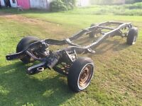 Chev GMC long wheel base 2wd frame / chassis