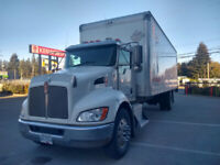 2014 T370 Kenworth with Collins 26' Vanbody AVAILABLE LATE MARCH