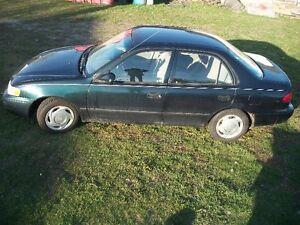 1999 Toyota Corolla VE Sedan