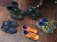 Selection of boys shoes and boots for sale!