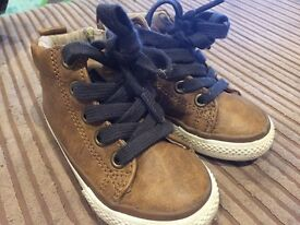 Next size 5 (toddler) high top trainers