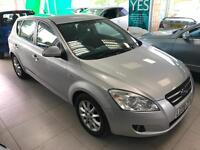 2008 Kia ceed 1.6CRDi ( 113bhp ) LS - 10 STAMP - 2 KEEPERS - 2KEYS