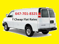 ONE MAN WITH BIG VAN CHEAP-SMALL MOVES-PICKUP DELIVERY SERVICES