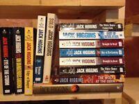 JACK HIGGINS BOOKS FOR SALE-$2.50