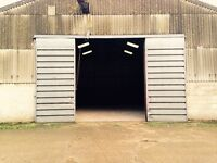2400 sq/ft secure storage unit barn available for 5 month lease - just off J10 M40, Oxfordshire