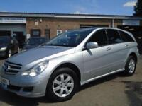 2006 MERCEDES-BENZ R CLASS 3.0 R320 CDI SE 5D AUTO 224 BHP DIESEL
