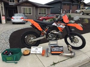 2008 KTM 300 XC, REKLUSE CLUTCH, LOW HOURS!!!