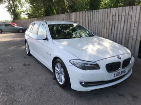 2011 11 BMW 530d SE ESTATE AC F10 6 SPEED EX POLICE BARGAIN 53.3 MPG MAY P/X
